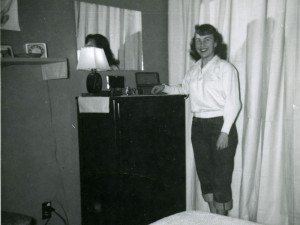 1956 Mom in their bedroom