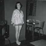1957 Mom in their living room