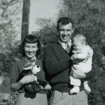1958 Dad, Mom and baby Steven