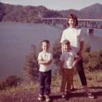 1963 Mom, Steven and Denise on vacation
