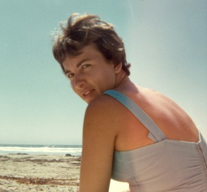 1966 Mom at Pismo Beach