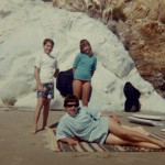 1969 Mom, Steven and Den at Pismo Beach
