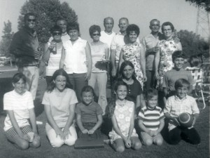 1970 Grove family reunion