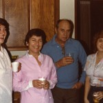 1982 Mom at home with square dancing friends 1