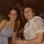 1984 Mom and Den at a party at Mom's home