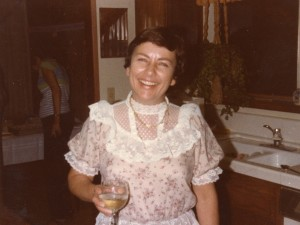 1984 Mom at party at her home