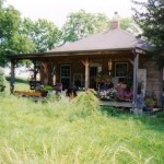 1995 A house Lora lived in outside Lawrence Kansas