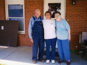 1995 Lora with Old Friends Merle & Kathy Ward