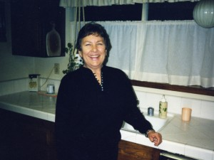 1998 Lora in Kitchen